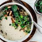 Caramelized Fennel, Cannelini Beans, kale & sausage soup- arianascuisineofmarin.com