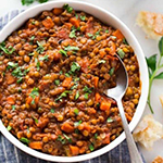 Lentil, Vegetable & beef soup - arianascuisineofmarin.com