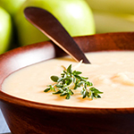 Vegan Fennel & Apple soup- arianascuisineofmarin.com
