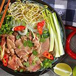 Vietnamese soup Pho Bo- arianascuisineofmarin.com